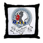 MacBain Clan Badge Throw Pillow