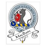 MacBain Clan Badge Small Poster