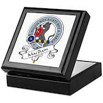 MacBain Clan Badge Keepsake Box