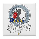 MacBain Clan Badge Tile Coaster