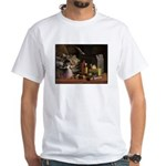 Duck Hunting White T-Shirt