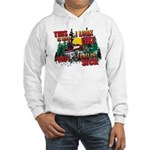 Snowmobiling is Life Live IT Hooded Sweatshirt