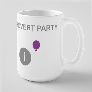Introvert Party Large Mug