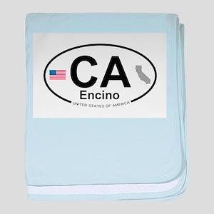 Encino baby blanket