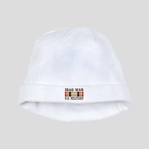Iraq War Service Ribbon baby hat