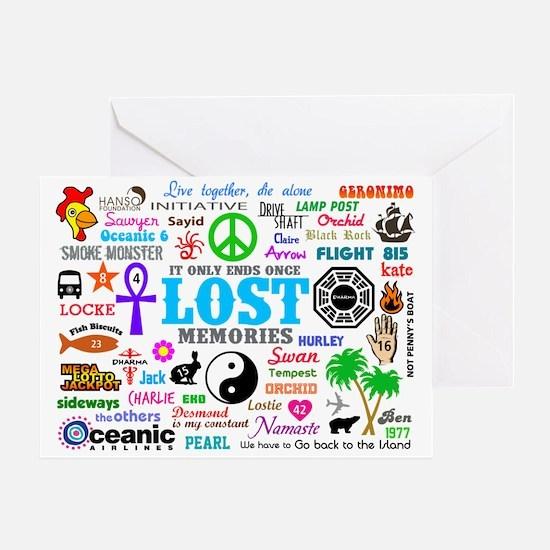 LOST V3 Greeting Card