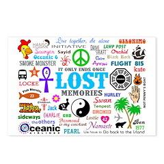 LOST V3 Postcards (Package of 8)