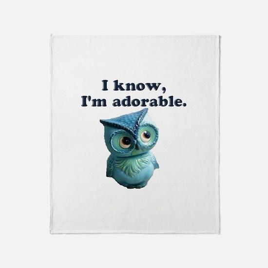 Adorable Throw Blanket