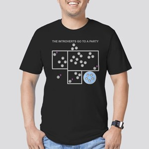 The Introverts Go To a Party Men's Fitted T-Shirt