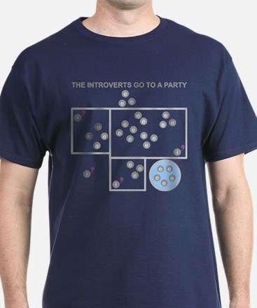 The Introverts Go To a Party T-Shirt