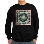 Christmas Stitches Sweatshirt (dark)