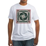 Christmas Stitches Fitted T-Shirt