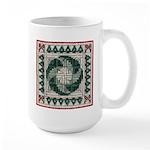 Christmas Stitches Large Mug