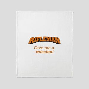 Rifleman - Mission Throw Blanket