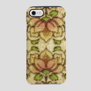 Water Lily Motif iPhone 7 Tough Case