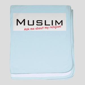 Muslim / Ask baby blanket