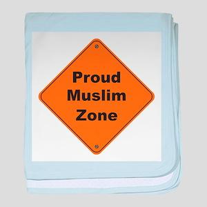 Muslim Zone baby blanket
