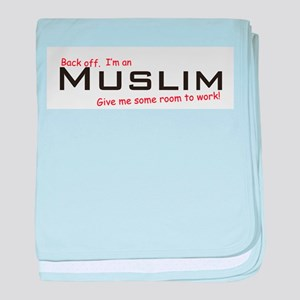 I'm a Muslim baby blanket