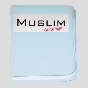 Bad Muslim baby blanket