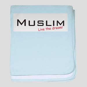 Muslim / Dream! baby blanket