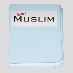 Jaded Muslim baby blanket