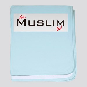 Go Muslim baby blanket