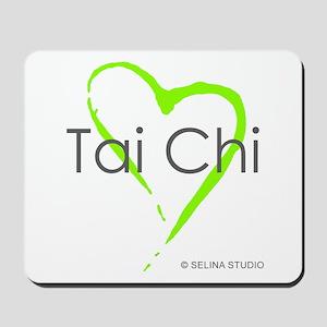 """Tai Chi Heart"" Mousepad"