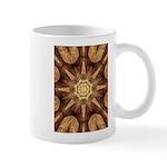Hardwood Sunburst Mugs
