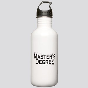 Master's Degree Stainless Water Bottle 1.0L