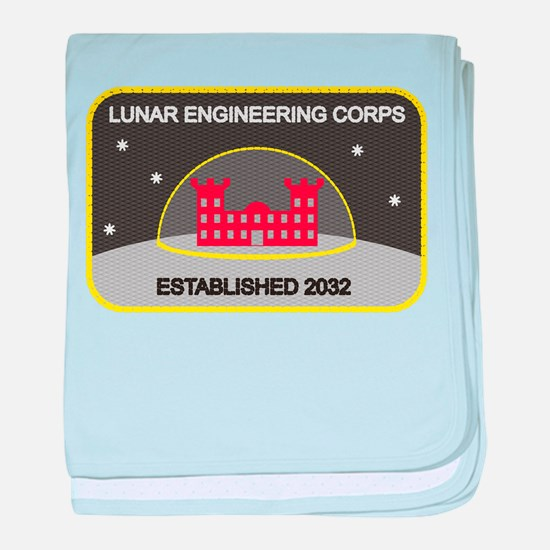 Lunar Engineering baby blanket