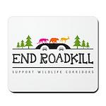 End Roadkill Multicolor Mousepad