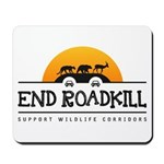 End Roadkill Orange Sun Mousepad
