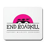 End Roadkill Pink Sun Mousepad