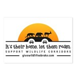 It's Their Home Wildlife Postcards (package Of