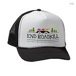 End Roadkill Multicolor Kids Trucker Hat