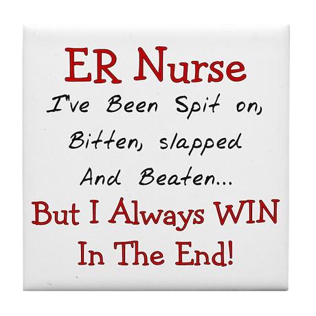 Nurse XXX Tile Coaster