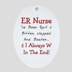 Nurse XXX Ornament (Oval)