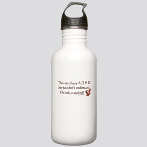 ADHD Squirrel Stainless Water Bottle 1.0L