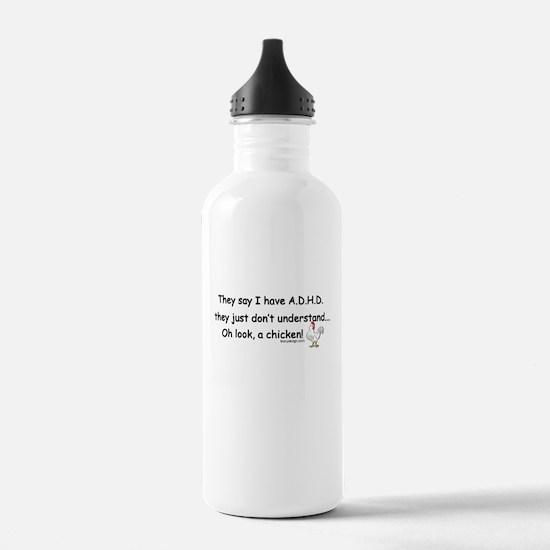 ADHD Chicken Water Bottle
