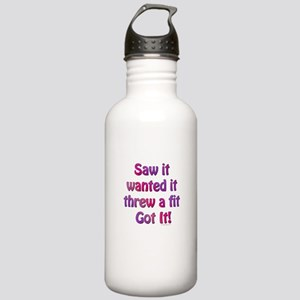 Saw it, wanted it, ... Stainless Water Bottle 1.0L