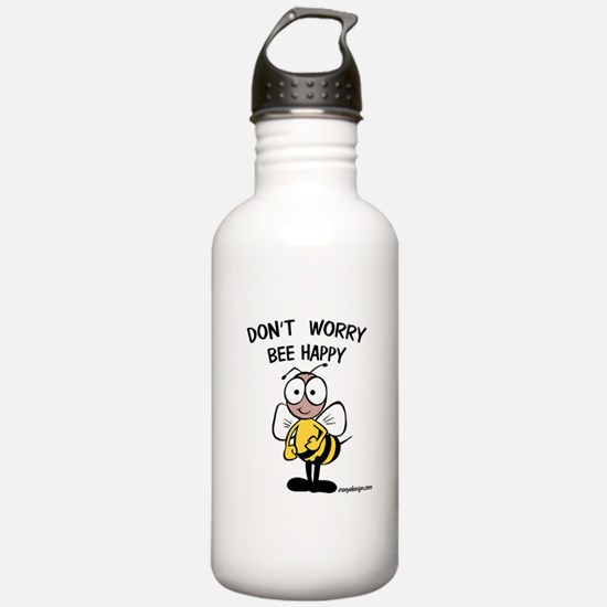 Don't Worry Bee Water Bottle
