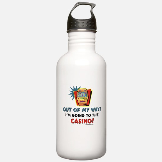 Out of my way! Sports Water Bottle