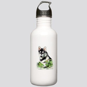 Siberian Husky Dog Stainless Water Bottle 1.0L