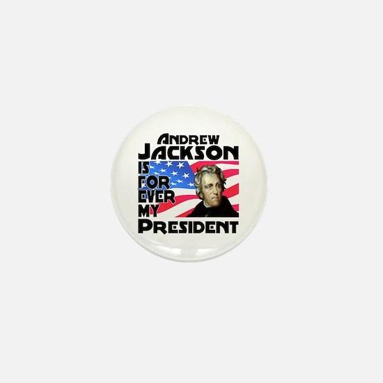 Andrew Jackson 4ever Mini Button