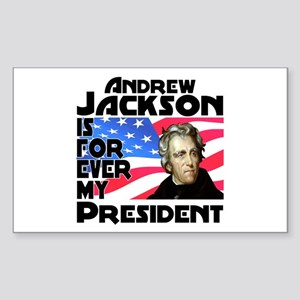 Andrew Jackson 4ever Sticker (Rectangle)