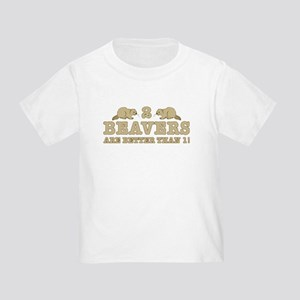 2 Beavers Toddler T-Shirt