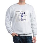 Hebrews 12:1 Sweatshirt