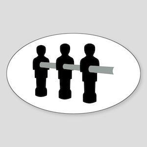 Foosball Sticker (Oval)