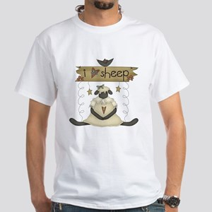 Sheep White T-Shirt