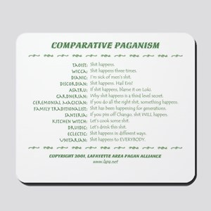 Comparative Paganism Mousepad